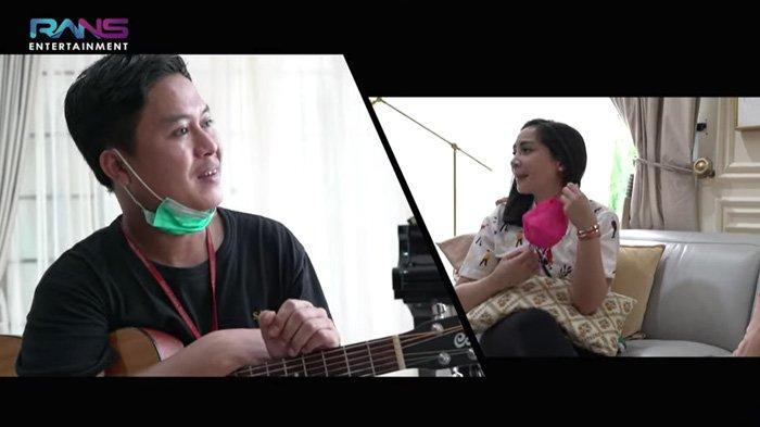 Histeris Lihat Nagita Slavina Buka Masker, Pencipta Lagu Raffi Ahmad Diperingatkan : Jangan Nangis