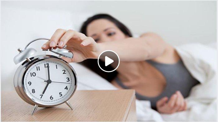 Ilustrasi susah bangun tidur