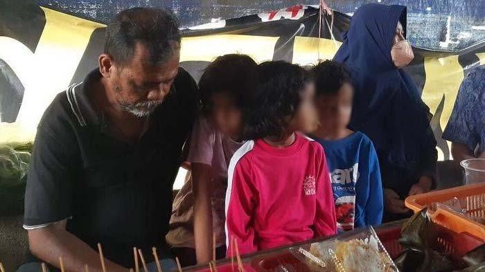 Nasib Pilu Cahyo dan 7 Anaknya Tidur di Angkringan, Gara-gara Diusir dari Kosan : Tak Bisa Bayar