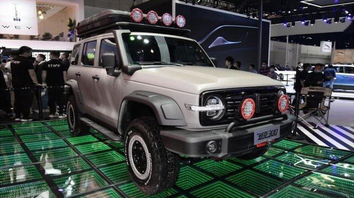 Penampakan Kendaran SUV Tank 300 Pabrikan China, Dikabarkan Bisa Tembus Segala Medan