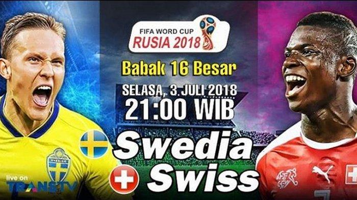 Jadwal Piala Dunia 2018 - Rebutkan 2 Tiket Tersisa, Swedia Ingin Ulang Memori 1994 Lawan Swiss