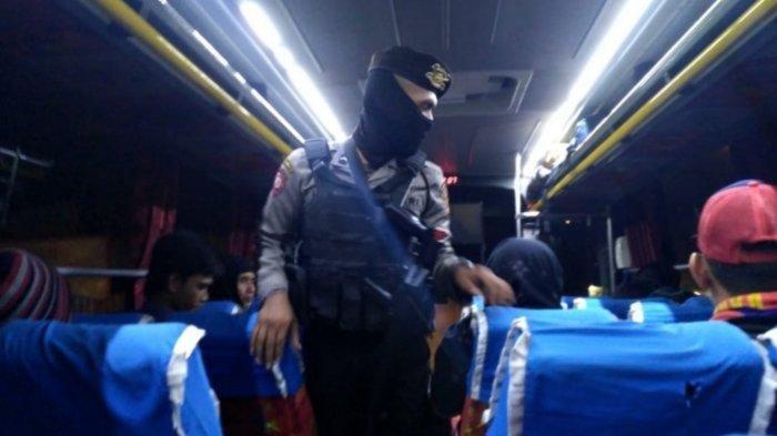Antisipasi Aksi, Polisi Masih Sweeping Massa ke Jakarta dari Tangerang