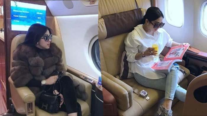 Syahrini Naik Private Jet di 2014-2017 Tanpa Endorse & Dana Pak Haji, Aisyahrani: Mau Percaya Monggo