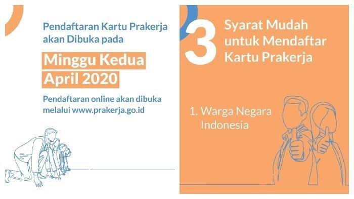 Link Pendaftaran Kartu Pra Kerja di prakerja.go.id, Buat Akun dan Ikut Tes Dulu