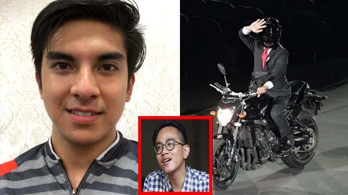 Menpora Malaysia Syed Saddiq Puji Jokowi Mirip Valentino Rossi Saat Naik Moge, Lihat Ekspresi Gibran
