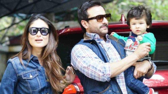 SELAMAT Kareena Kapoor Melahirkan Anak Kedua, Saif Cium Kening Istri, Ini Potret Tampan Adik Taimur