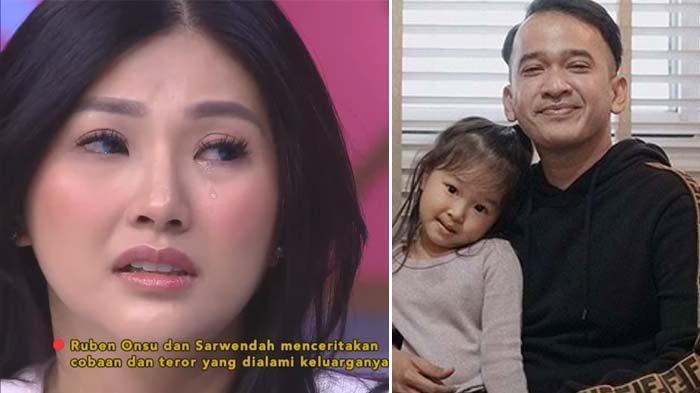 Teror pada Ruben Onsu Ikut Menyeret Thalia, Sarwendah Tak Sangka Dengar Putrinya Ucap Ancaman Ini