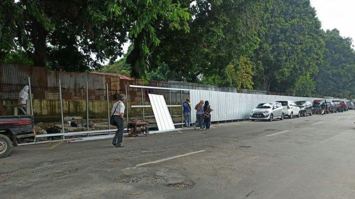 Taman Topi Bogor Mulai Dipagar, Alun-alun Dibangun Bareng dengan Pedestrian