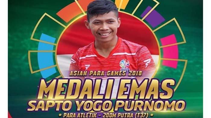 Update Perolehan Asian Para Games 2018 - Indonesia Bertahan Di Posisi 6, Raih 5 Medali Emas