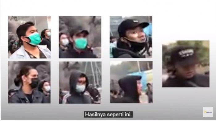 Tampang Terduga Pelaku Pembakar Halte Sarinah, Lihat Gerak-geriknya di Tengah Massa Demo