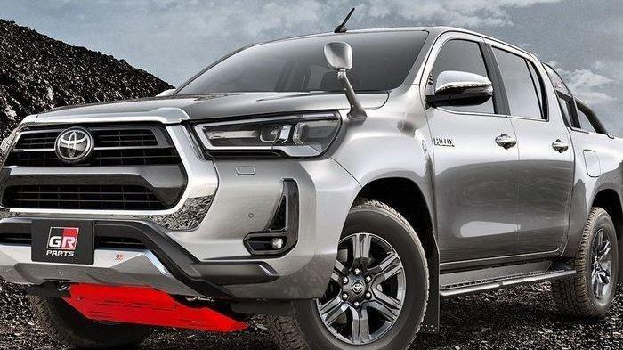 Intip Tampang Sangar Toyota Hilux Terbaru, Desain Lebih Gagah
