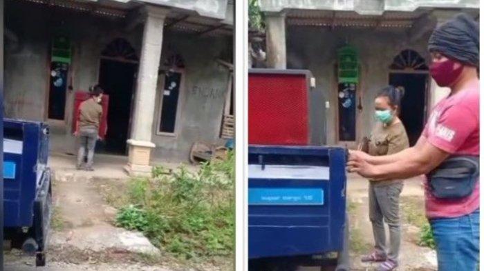 Viral Video Tante Putus dengan Berondongnya, Barang Pemberian Diangkut Lagi