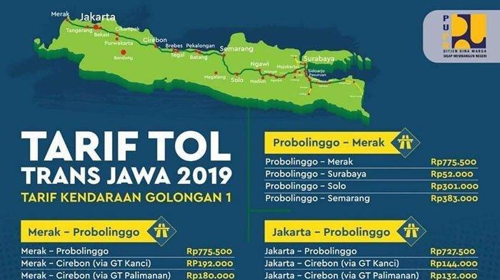 Mau Mudik Lewat Tol Trans Jawa Ini Daftar Tarif Tol nya, Periksa Saldo e-Toll Sebelum Berangkat