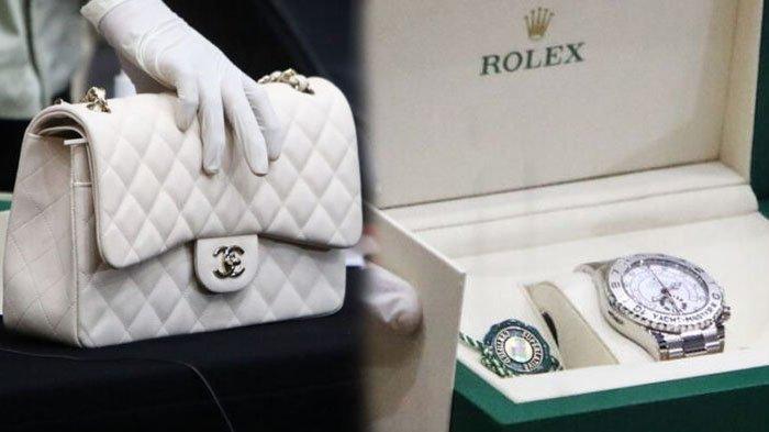 Harga Barang Mewah Edhy Prabowo dan Istri yang Disita KPK, Tas Chanel Rp 92 Juta - Rolex Rp 216 Juta