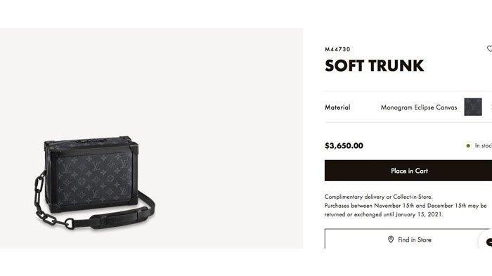 Tas Louis Vuitton Soft Trunk