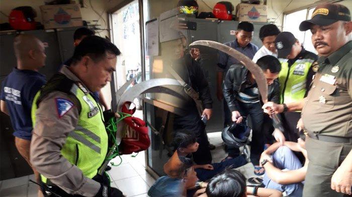 Pelajar yang Tertangkap Tawuran di Jalan Sholeh Iskandar Bogor Diduga Pakai Jimat