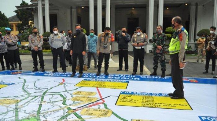 Kapolresta Tegaskan Tidak Ada Sanksi Tilang Dalam Aturan Ganjil Genap Kota Bogor