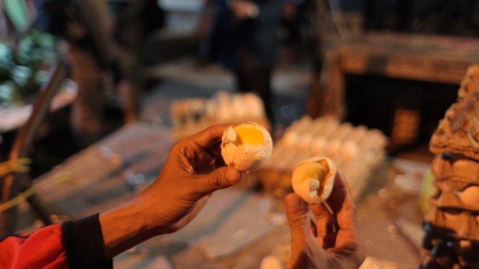 Sidak Kepasar Saat Dini Hari, Petugas Temukan Tulur Infertil Tak Layak Jual