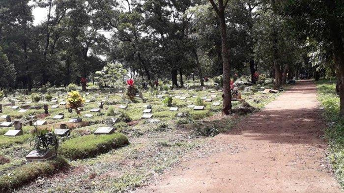 Sepekan Jelang Ramadhan 2021, TPU Pondok Rajeg Cibinong Bogor Sepi dari Peziarah