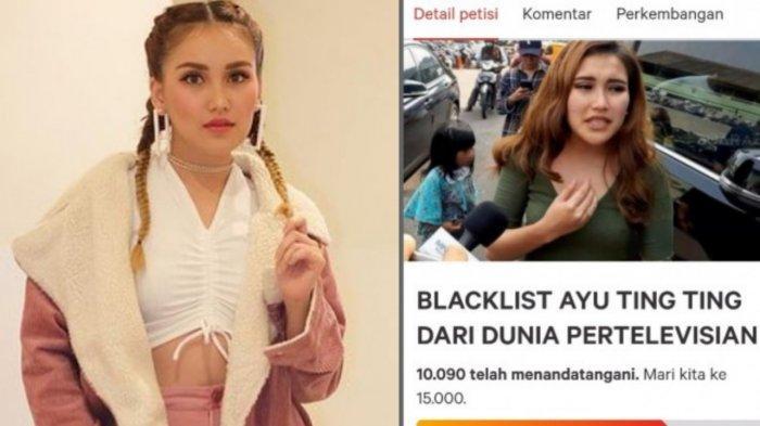 Tendang Orang, Ramai Petisi Blacklist Ayu Ting Ting, Nasib Karir ATT Terancam : Nama Baik Tercoreng