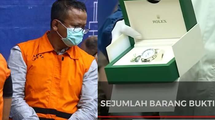 Daftar Belanjaan Edhy Prabowo di AS Senilai Rp 753 juta, 3 Jam Rolex hingga Pulpen