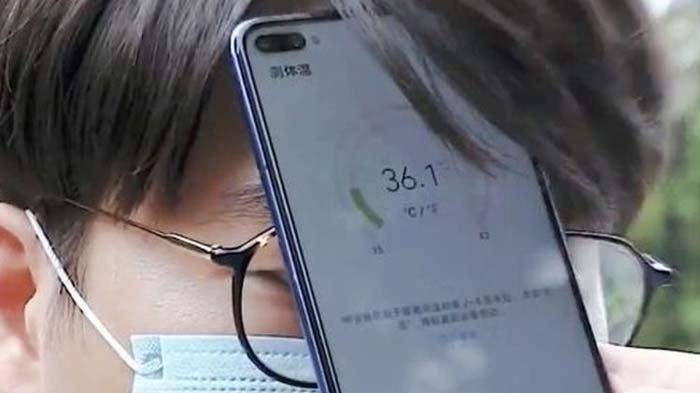 Dibuat Pertama Kali, Smartphone Ini Dibekali Termometer yang Bisa Cek Suhu Tubuh !