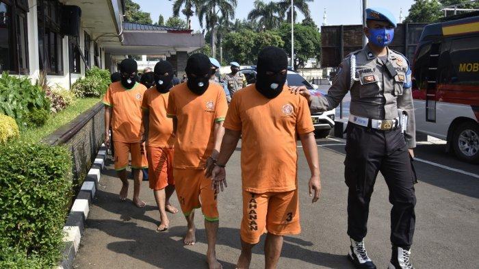 Ungkap Kasus Peredaran Uang Palsu di Bogor, Polres Bogor Gerebek Pabriknya di Tangerang