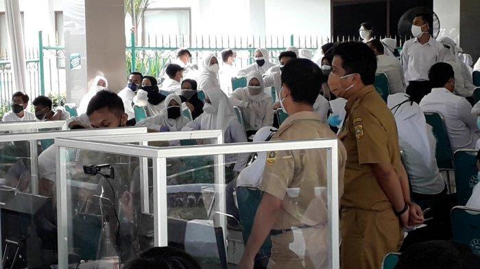 Sempat Gangguan Jaringan, Tes SKD CPNS 2021 di Cibinong Bogor Molor