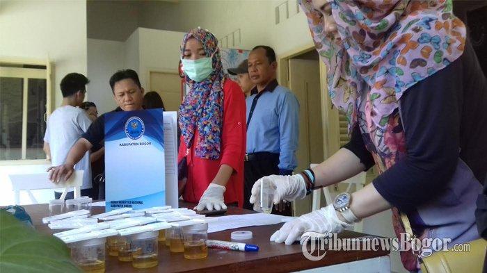 Rentan Penyalahgunaan Narkoba, Anggota Komunitas Vape Jalani Tes Urin