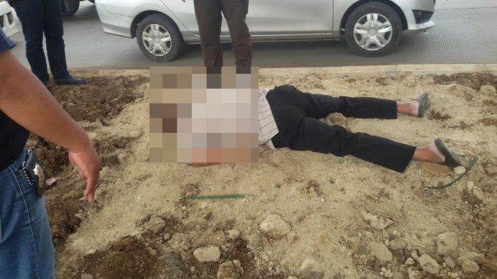 Heboh! Seorang Pria Ditemukan Tewas Dibawah Fly Over Jalan Sholeh Iskandar Bogor