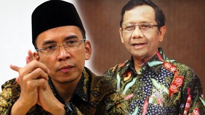 Disebut Jokowi Masuk Bursa Cawapres Bersama TGB, Mahfud MD: Saya dan TGB Tidak Akan Berebutan