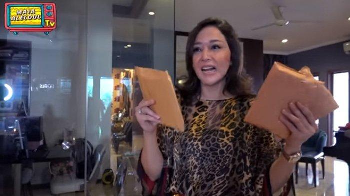Raba Amplop THR dari Irwan Mussry untuk Al El Dul, Maia Estianty Kaget Ternyata Isinya Segini