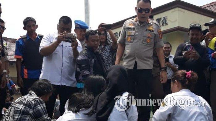3 Siswi SMK Bogor Diamankan Diduga Akan ke Jakarta Ikut Aksi, Ngakunya Ingin Meramaikan