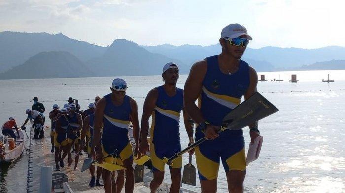UPDATE PON Papua 2021 - Tim Dayung Putra Jawa Barat Tampil Gemilang, Raih 19 Emas