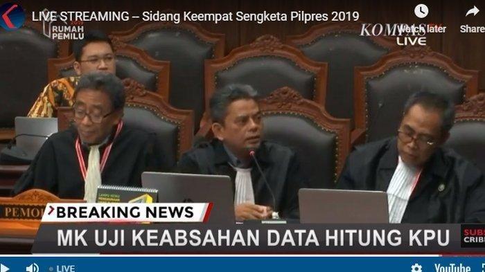 Tim Hukum 02 Sampaikan Permohonan Maaf ke Saksi Ahli KPU, Hakim MK: Sidang Ini Disaksikan Allah