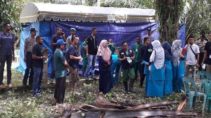 Polisi Terpaksa Bongkar Makam Rasyidin Karena Heboh Kabar Diduga Masih Hidup Saat Dikuburkan