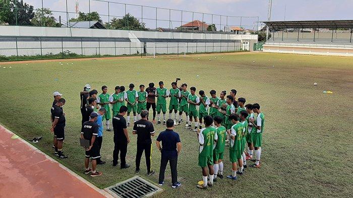 Uji Coba, Tim Sepak Bola BK Porprov Kota Depok Tahan Imbang Klub Liga 3