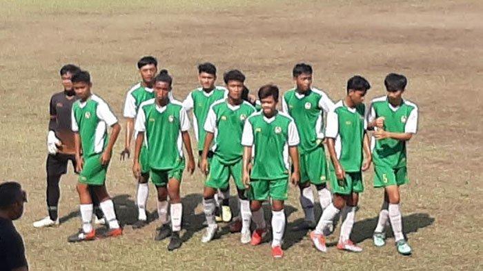 Sedang Berlangsung Uji Coba Tim BK Porprov Kota Depok Kontra Persipu FC