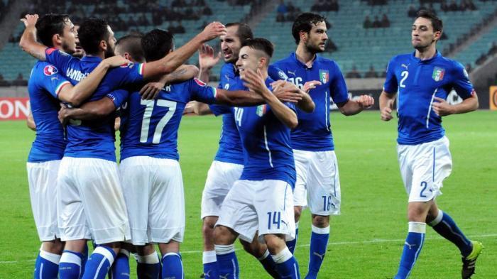 Kalahkan Azerbaijan 3-1, Italia Lolos ke Prancis