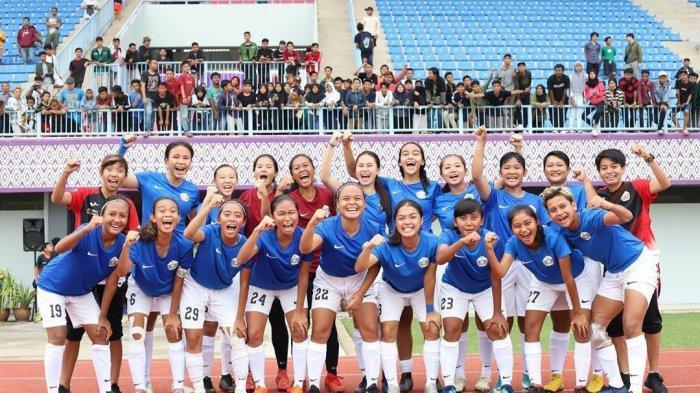 Setelah Lebaran, Tim Sepakbola Putri PON DKI Jakarta Kembali Berlatih