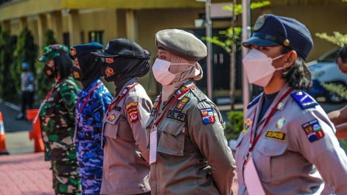 Polresta Bogor Kota melaunching Srikandi Tim Penjemput Vaksinasi Kota Bogor di Lapangan Mako Polresta Bogor Kota, Jalan Kapten Muslihat, Kota Bogor, Senin (20/9/2021).