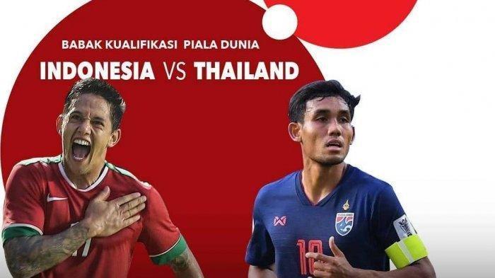 Live Streaming Timnas Indonesia vs Thailand, Malam Ini Pukul 19.00 WIB di Mola TV, Link Di Sini