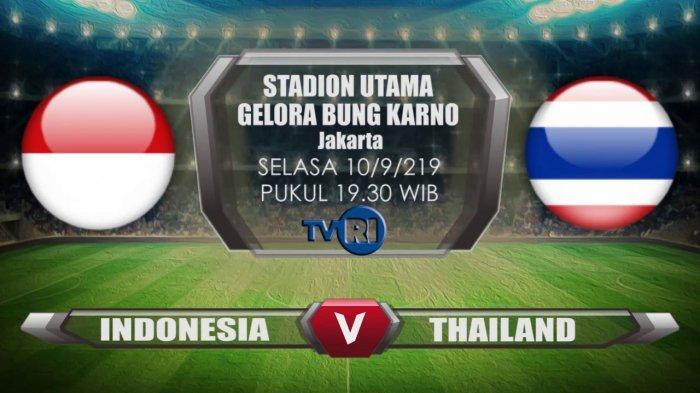Hasil Babak Pertama Timnas Indonesia VS Thailand, Skor Sementara Masih Imbang