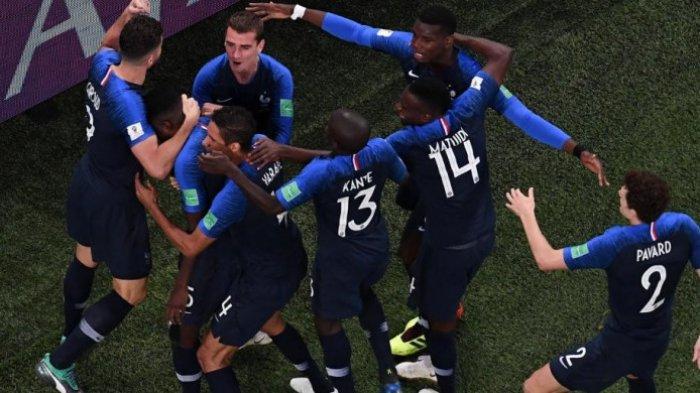 Tembus Final untuk Kali Ketiga, Ini Rekor Timnas Prancis Selama 20 Tahun Terakhir !