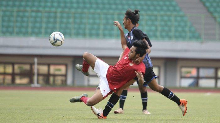 Sumbang 2 Gol Kemenangan Timnas U-16 Indonesia Pada Laga Uji Coba, Ini Ungkapan Wahyu Agong