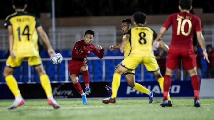 BERLANGSUNG Live Streaming Timnas U-23 Indonesia Vs Vietnam Final SEA Games 2019, Masih Imbang
