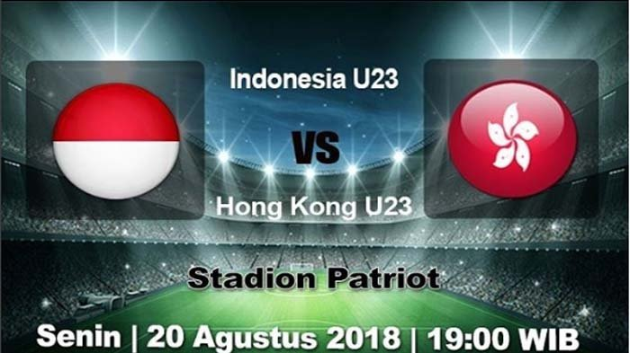 Link Live Streaming Indonesia Vs Hongkong Malam Ini Pukul 19.00, Tim Garuda Wajib Menang