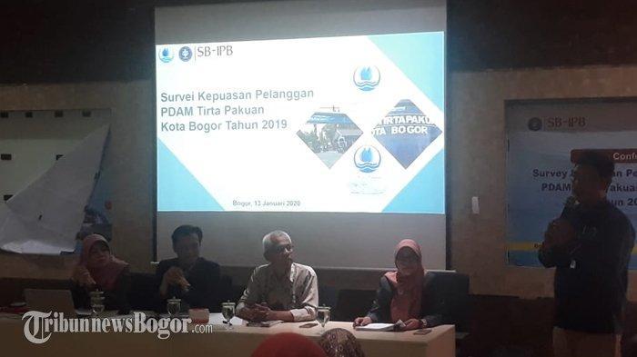 Hasil Survei Kepuasaan Pelanggan PDAM, Masih Ada Keluhan Soal Distribusi Air di Bogor Barat