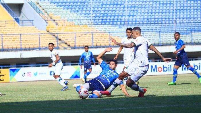 Hasil Liga 1 2021 - Persib Bandung Gagal Dapat Poin Penuh saat Hadapi Borneo FC