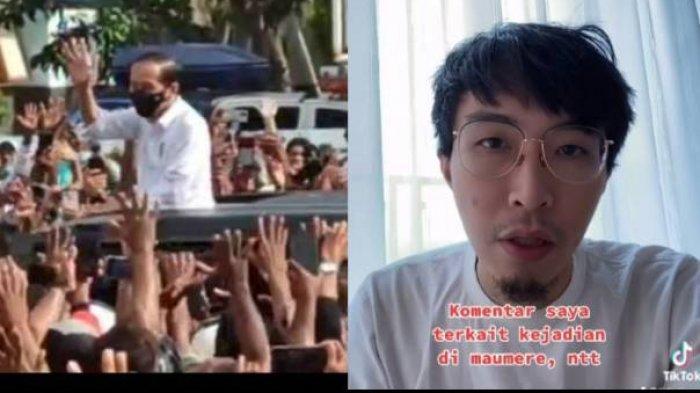 Alasan Jokowi Tak Dikenakan Sanksi Kerumunan, dr Tirta : Presiden Tidak Mengajak Mereka Datang